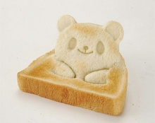 ไอเดียดี! ทำขนมปังปิ้งเป็น 3 มิติ