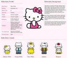 อะไรนะ Hello Kitty ไม่ใช่แมวแต่เป็น ...!!!!