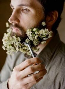 แฟชั่นใหม่สุดชิค! ดอกไม้กับผู้ชาย
