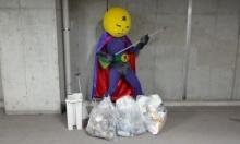 หล่อ! MANGETSU MAN ฮีโร่ผู้ผดุงความสะอาดบนท้องถนน