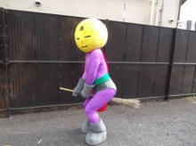 ฮีโร่ไม้กวาด ปรากฎกาย ทำความสะอาดถนน ในกรุงโตเกียว
