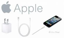 แนะนำ 5 สายชาร์จ iPhone, iPad ได้มาตรฐานจากแอปเปิล