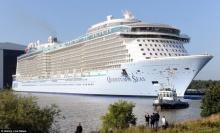 เยอรมนีปล่อยเรือสำราญสูง 18 ชั้น ใหญ่เป็นอันดับ 3 ของโลก