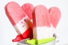 ไอศกรีมสตรอเบอร์รี่โยเกิร์ต ทำเองได้ อร่อยด้วย