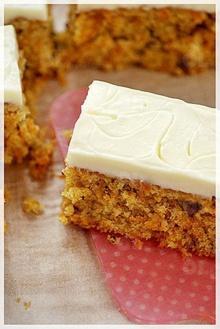 เค้กแครอท หอมนุ่ม อร่อยด้วย
