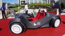 ทึ่ง! รถเปิดประทุนคันแรกของโลก ที่สร้างจากเครื่องพริ้นท์ 3 มิติ