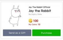 มาแล้ว! สติ๊กเกอร์ LINE กระต่ายน้อย Jay The Rabbit กระแสดีเยี่ยม