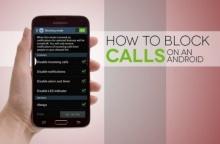 วิธีการ บล็อคเบอร์โทรเข้า สายโทรเข้า บนมือถือ Android