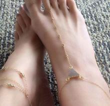 Ankle Bracelet 20 แฟชั่นสร้อยข้อเท้าน่ารักๆ