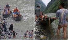 แปลกแต่จริง อาชีพผู้ชายรับจ้างลากเรือที่แยงซีเกียง ทำไมต้องไม่นุ่งกางเกง !?