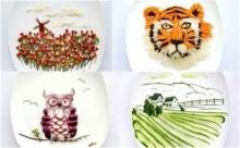 ไอเดียเจิด!! ศิลปะอาหารสุดเจ๋งบนจานข้าว