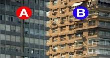 รู้หรือไม่ ตึก A หรือ B อยู่ข้างหน้า ? ไม่น่าเชื่อว่าคนส่วนมาก ตอบผิด