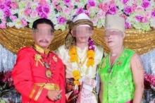 ชาวเน็ตด่าเละ!!! ชาย 3 คน อ้างเป็นร่างทรงกษัตริย์ไทย พม่า มาเลเซีย!!!
