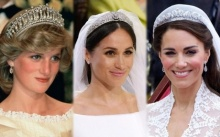 """งดงามเล่อค่า!! รวมภาพ """"เทียร่า"""" เครื่องประดับอันล้ำค่าของเจ้าสาวในราชวงศ์อังกฤษ"""