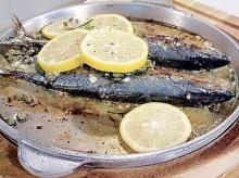ปลาทูปิ้งโรสแมรี่