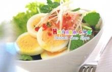 เมนูง่ายๆสบายๆ ยำไข่ต้มอย่างไทย