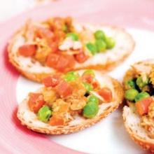 แซนด์วิชทูน่ากะหรี่ญี่ปุ่น