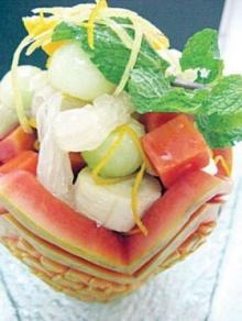 ฟรุตสลัดมะละกอ
