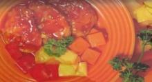 หมูอบสับปะรด