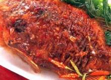 ปลาทับทิมราดพริก