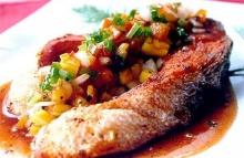 ปลาอินทรีทอดซอสเปรี้ยวหวาน