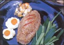 ข้าวคลุกไข่เค็ม