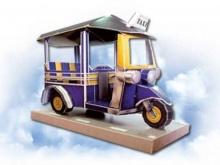 รถตุ๊กตุ๊กไทยครองอันดับ 5 แท็กซี่ดีสุดในโลก
