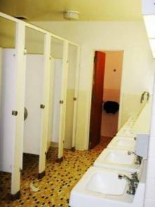 ดูแลสุขภัณฑ์ในห้องน้ำ