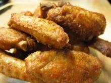 ไก่กลางทอดพริกเกลือ