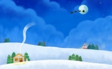 วอลเปเปอร์ Lovely Christmas CG Art and Paintings