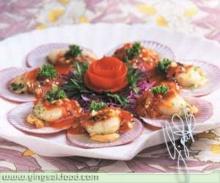 หอยเชลล์จานร้อน