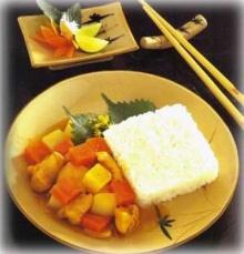 ข้าวแกงกะหรี่ไก่ญี่ปุ่น