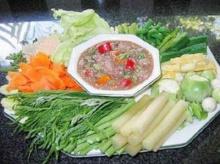 น้ำพริกกับผักเคียง ช่วยเลี่ยงได้หลายโรค