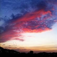 ฮือฮา ถ่ายภาพเมฆมังกรเพลิงกลางฟ้ากรุงไทเป