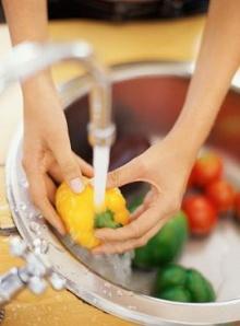 เคล็ดลับการล้างอาหารที่ถูกวิธี