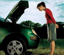 สาวนักขับไม่ควรมองข้าม เรื่องลมยาง