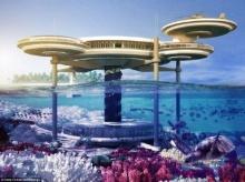 เจ๋งอีก นครดูไบเปิดโฉมโรงแรมใต้ทะเลอลังการตระการตา ไม่กลัวสึนามิ-น้ำท่วม
