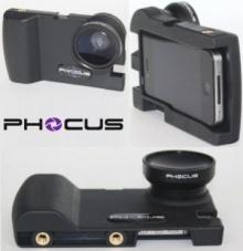 เคสเปลี่ยน iPhone ให้เป็นกล้อง DSLR