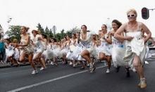 แข่งวิ่งเจ้าสาวในเซอร์เบีย