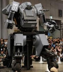 ญี่ปุ่นสุดเจ๋ง พัฒนาหุ่นยนต์บังคับได้ด้วยโทรศัพท์ ไอโฟนราคา 45 ล้านบาท