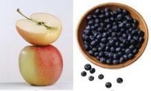 ลดเสี่ยงโรคเบาหวานด้วย แอปเปิ้ล บลูเบอร์รี่