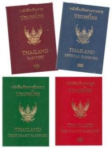 สีของพาสปอร์ต (passport)