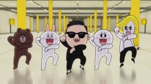 LINE ปล่อย MV เพลง Oppan LINE Style เผยให้เห็นสติ๊กเกอร์ใหม่ที่เคลื่อนไหวได้