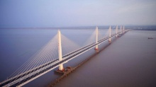 อีกแล้ว จีนผงาดเจ๋งไม่เลิก เปิด สะพานแขวน ใหญ่ที่สุดของโลก