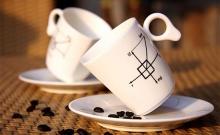 ถ้วยกาแฟ ไร้แรงดึงดูด