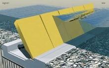 อิตาลีเจ๋ง สร้างกำแพงจักรกลป้องกันน้ำท่วมอย่างล้ำไฮเทค
