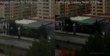 iPhone 5s กับ Galaxy Note 3 ความผิดพลาดในโหมดถ่ายวีดีโอ