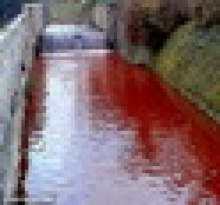 แม่น้ำกลายเป็นสีเลือด ร่ำลือเป็นลางร้ายสัญญาณของปีศาจ