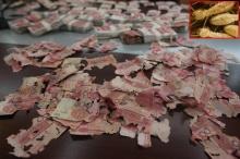 ยายลมแทบจับ ปลวกแทะเงินเก็บสูญเกือบ5หมื่น