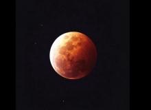 ทั่วโลกตื่นตาปรากฏการณ์พระจันทร์สีเลือด (ชมภาพ)